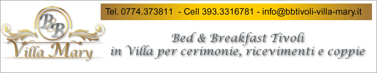 Bed & Breakfast Tivoli